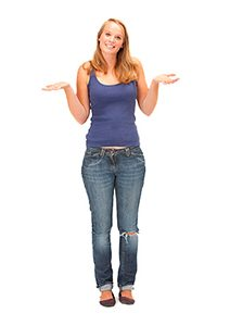 young girl shrugging resized
