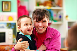 Teacher with Special Needs Child